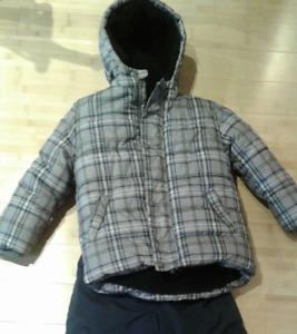 Manteau d'hiver pour garçon 4 ans