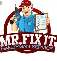 Handyman services with 10 years experience