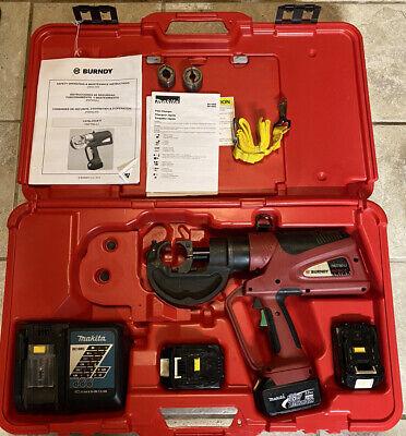 Burndy Pat750li Hydraulic Battery Operated Crimper