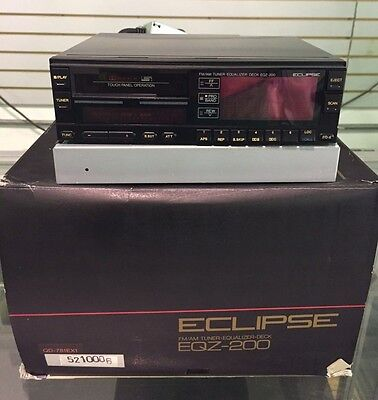 Eclipse Eqz 200 In Dash Cassette Stereo Receiver Equalizer Am Fm Touch Panel