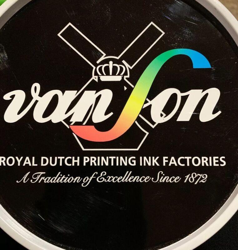 VanSon Royal Dutch Printing Ink Vs 3 Series VS3817 Intense Black 2.2 Lb (VLT)