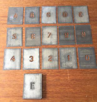 Complete Set of Alpha Bet Letters