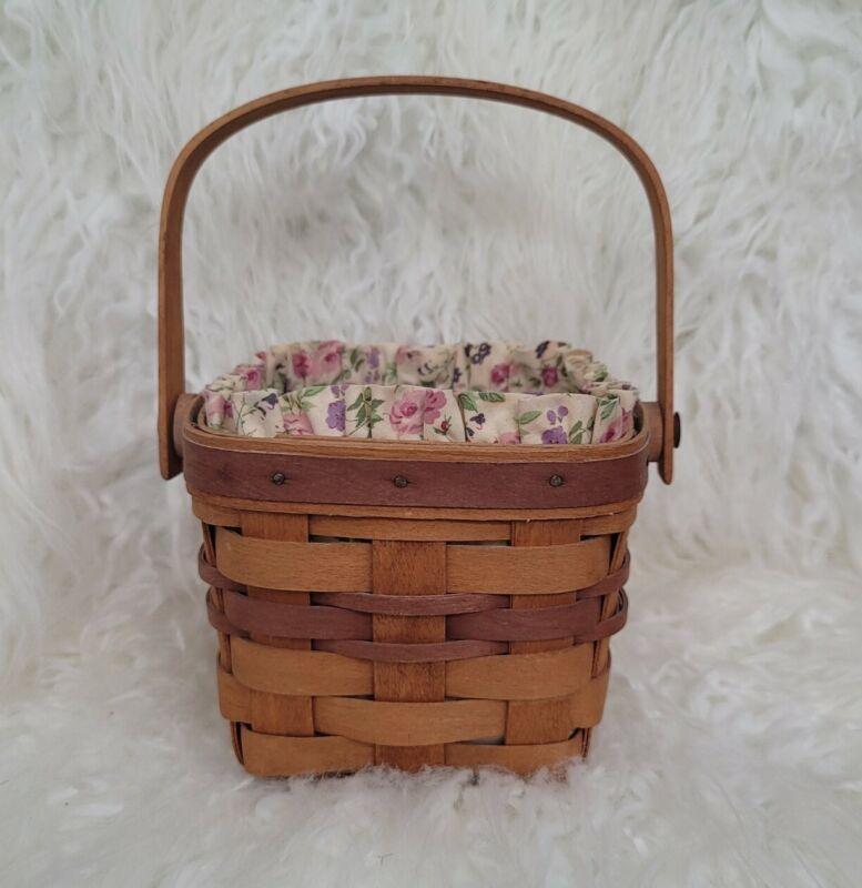 Longaberger RARE May Series Violet Basket 1990