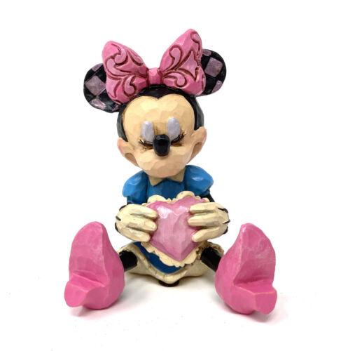 ••• Minnie Mouse mit Herz Enesco Disney Sammelfigur Figurine 4054285 NEU OVP •••