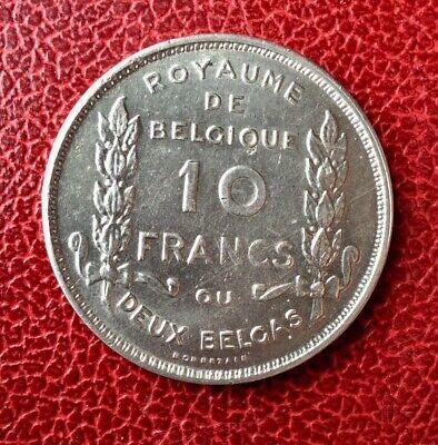 Belgique - Albert Ier - Près de Suberbe  10 francs/ 2 Belgas 1930 Fr  pos A