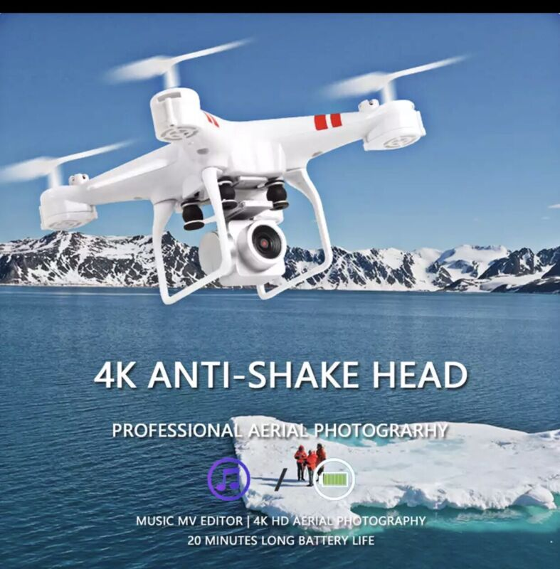 2020 NEW RC 4K DRONE. LIMITED QUANTITY SALE. Red Color