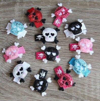 hen Haarspange Totenkopf Skull Halloween Fotoshooting (Halloween Kleinkind)