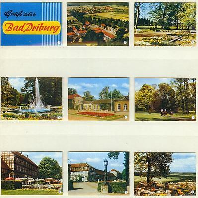 9er Streichholzetikettenserie 19 - Gruß aus Bad Driburg