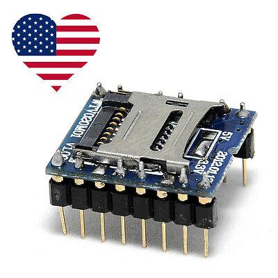 2 X Wtv020-sd Audio Breakout Board For Arduino - Ship From Az Usa