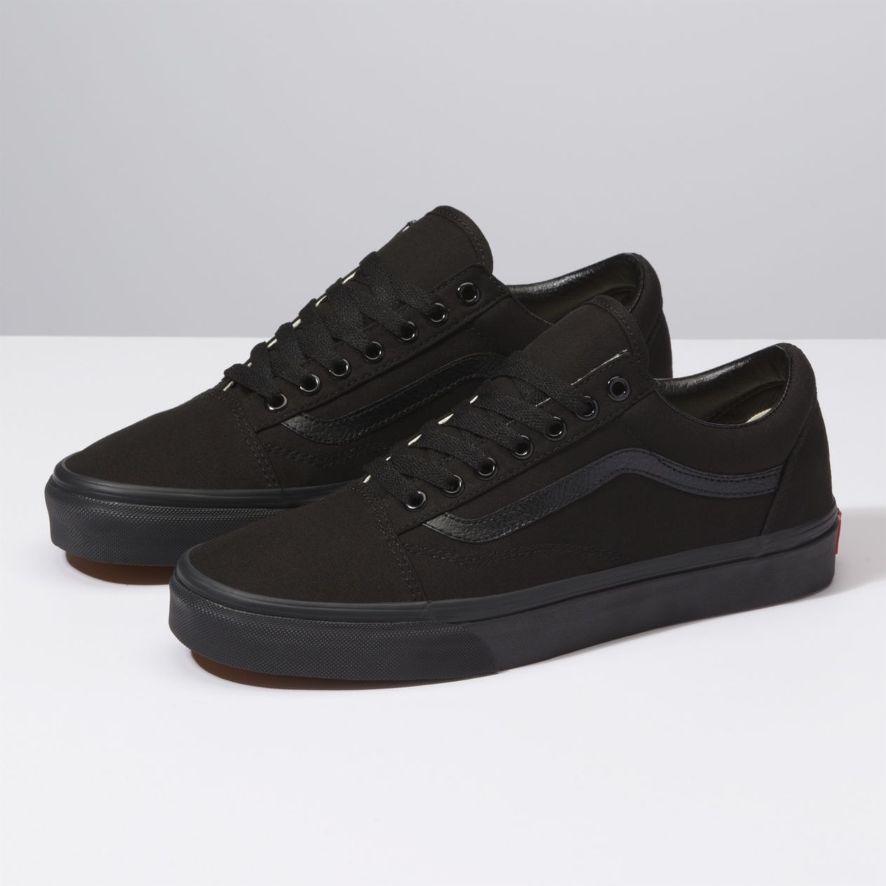 New Men and Women Vans Old Skool All Black Skateboarding Sho