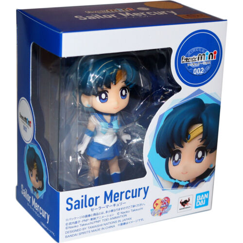 Sailor Moon Sailor Mercury Figuarts Mini Figure Bandai Tamashii Nations Official