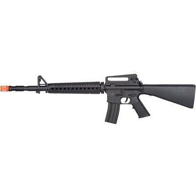 AIRSOFT M-16 TACTICAL SPRING RIFLE GUN w/ 6mm BB BBs Vietnam War M4 A1