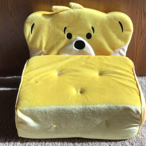 Build A Bear Plush Yellow Fold Out Couch EUC - $4.00