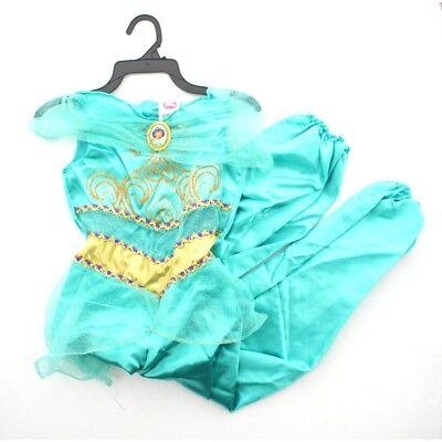 Disguise Disney Princess Girls Kids Child Aladdin Jasmine Halloween Costume