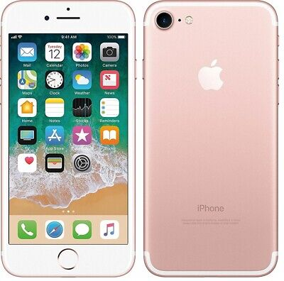 Apple iPhone 7 MN912B/A 4G Smartphone 32GB Unlocked Sim-Free - Rose Gold A