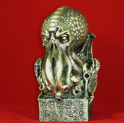 The 'Cthulhu' Octopus Figure Figurine H. P. Lovecraft Othulhu Statue Sculpture