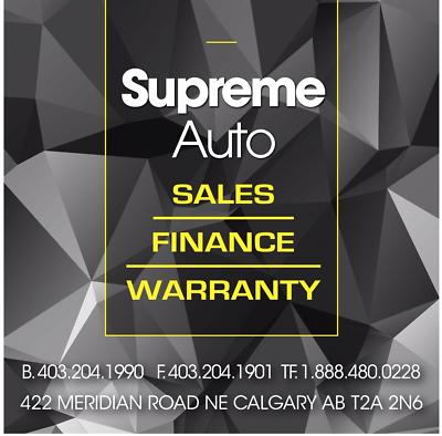 Supreme Auto Sales Calgary