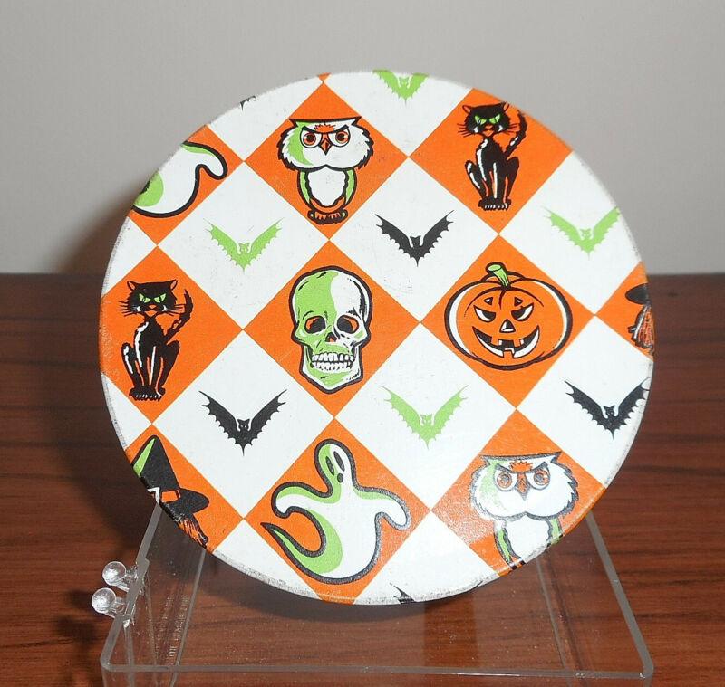 Vintage Halloween Noise Maker, Skulls, Black Cats, Bats Circa 1970s / 1980s