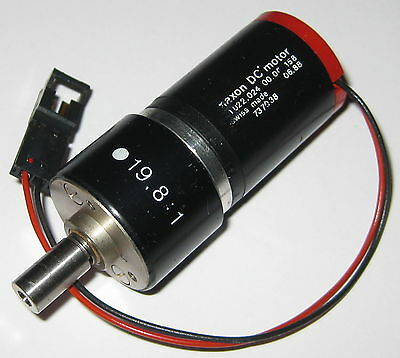 Maxon Dc Motor Gearhead - 9 V - 220 Rpm - Swiss Made - Extremely Low Current