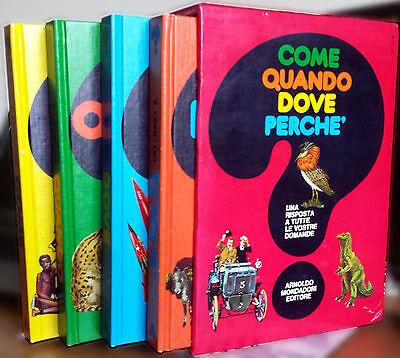 Giuseppe Zanini, Come, quando, dove, perché (4 volumi), Ed. Mondadori, 1980