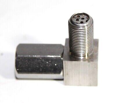 O2 Oxygen Sensor Spacer Engine Light CEL Check Bung Catalytic Converter 90 Deg