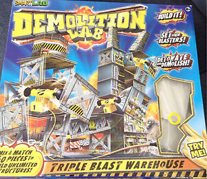 Spring cleaning- toy demolition lab