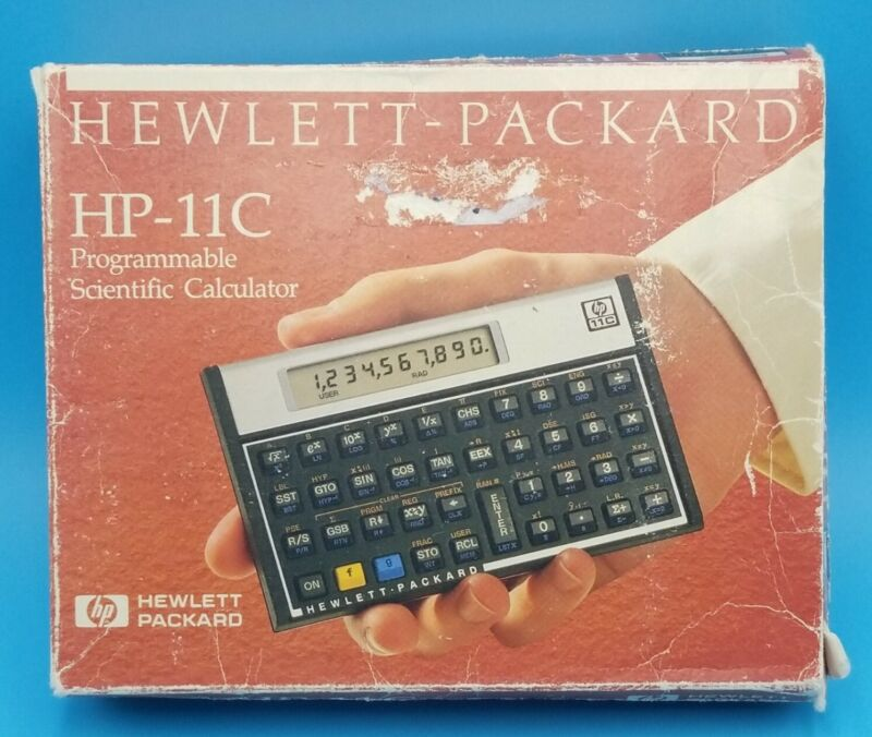 HP-11C Programmable Scientific Calculator Boxed, Case & Manual, Hewlett Packard