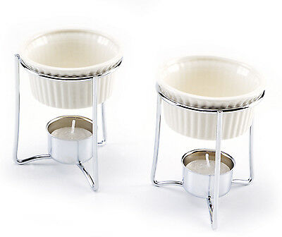 Norpro 215 Stainless And Ceramic Warmers, Set Of 2 on sale