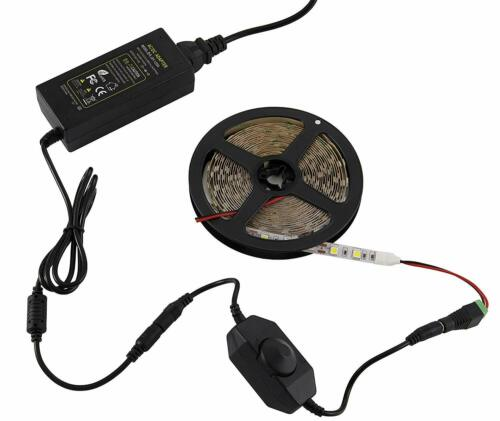LED Dimmer Drehdimmer 12V//24V Schnurdimmer Kabeldimmer stufenlos An//Aus 1-30W
