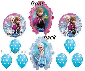 Disney Frozen Movie Birthday Party Balloons Decorations Supplies