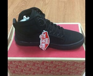 DS New with Box Vans Alomar Black High Top Skate