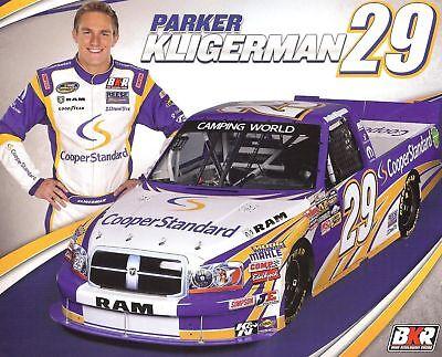 2012 Parker Kligerman Cooper Standard Dodge Ram Nascar Postcard