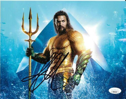 Jason Momoa Aquaman Autographed Signed 8x10 Photo JSA COA #11
