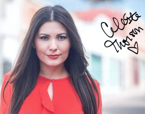 Celeste Thorson Signed Autographed 8x10 Photo How I Met Your Mother Actress COA
