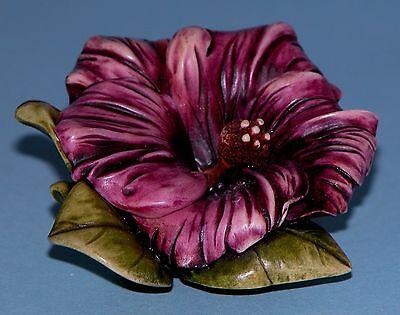 "Harmony Kingdom Garden box HG5HI ""Hibiscus"" ladybug Lord Byron 2000-2004 NIB"