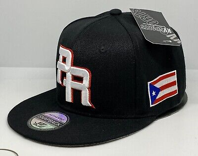 PUERTO RICO WBC 3-D EMBROIDERED PR - FLAG ON SIDE SNAPBACK HAT - FREE PIN GIFT
