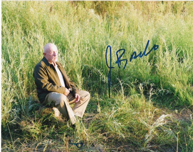 JONATHAN BANKS SIGNED 8X10 PHOTO BREAKING BAD BETTER CALL SAUL AUTO PROOF COA C