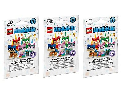 LEGO Unikitty! Collectible Minifigures Series 1 (41775) **LOT OF 3 PACKS**