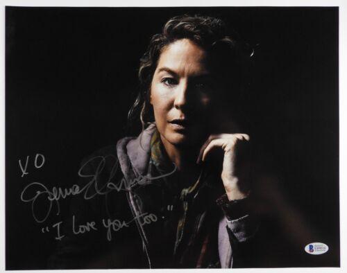 Fear The Walking Dead Jenna Elfman Autograph Signed Photo Beckett 11 x 14