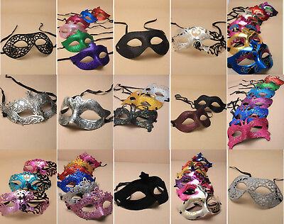 Buy Masquerade Mask (Wholesale Masquerade Masks Job Lot Party Glitter Face Eye Masks Bulk)