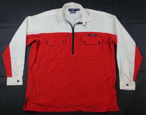 Rare Vintage POLO SPORT Ralph Lauren Spell Out Raf