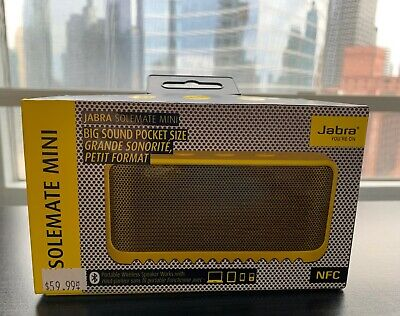Used, Jabra Solemate Mini Speaker - NEW in Box - Yellow for sale  Chicago