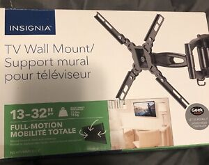 """TV Wall Mount/Support mural 13-32"""" Full Motion $50"""