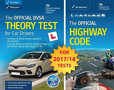 Driving Theory Test Car Drivers Book for 2017/18 & Latest Highway Code