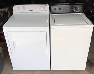 Kenmore Washer / Hotpoint Electric Dryer