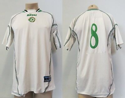 US Avellino 2003-05 away shirt Royal soccer jersey #8 size L image