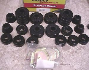Body-Cab-Mount-Bushing-Cushion-Set-Kit-73-77-Chevy-Blazer-GMC-Jimmy-4WD-34105
