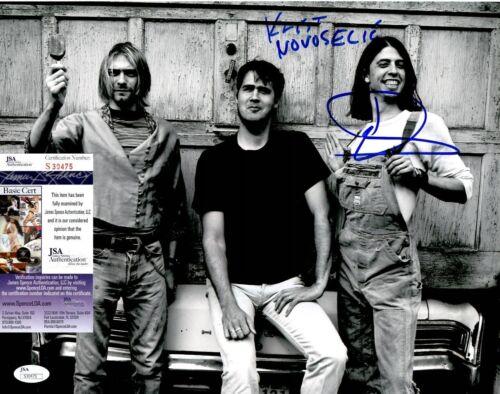 Dave Grohl & Krist Novoselic Signed Nirvana 11x14 Photo w/ JSA COA #S30475