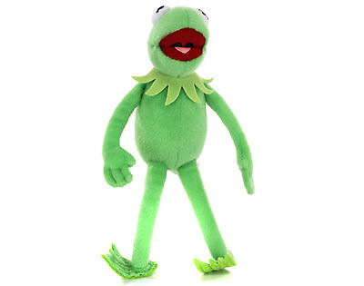 """NEW OFFICIAL 17"""" KERMIT THE FROG FROM THE MUPPETS PLUSH SOFT TOY"""