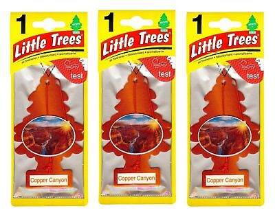 Copper Canyon Scented Little Trees Hanging Car Air Fresheners 24Pk New  Sealed